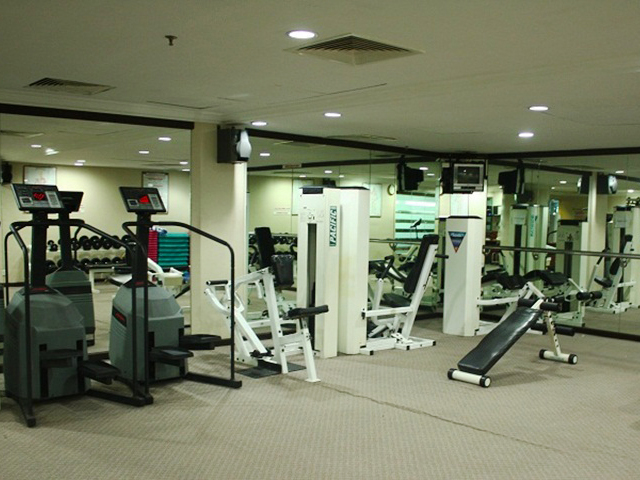Fitness centre available for guests staying at Sabah Oriental Hotel